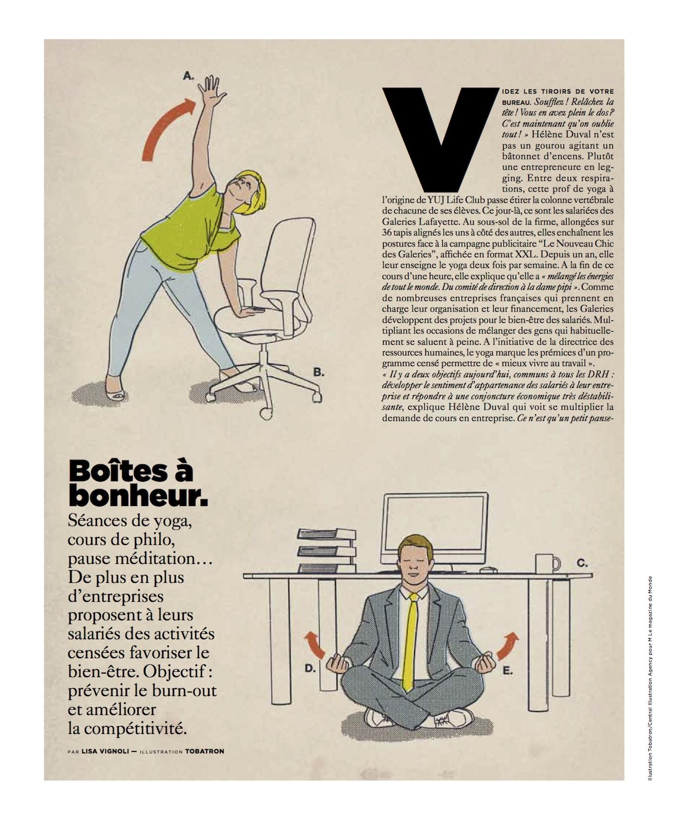 M Le Monde, page 1