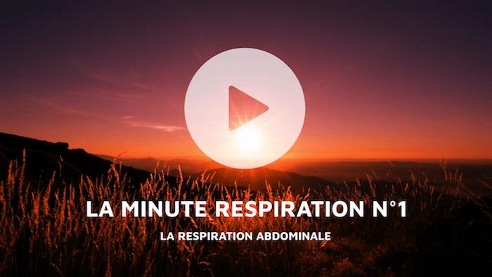 Minute Respiration #1, Respiration Abdominale